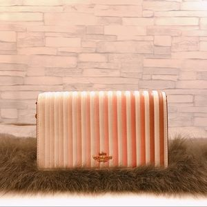 COACH Callie Ombré Quilting Leather Clutch